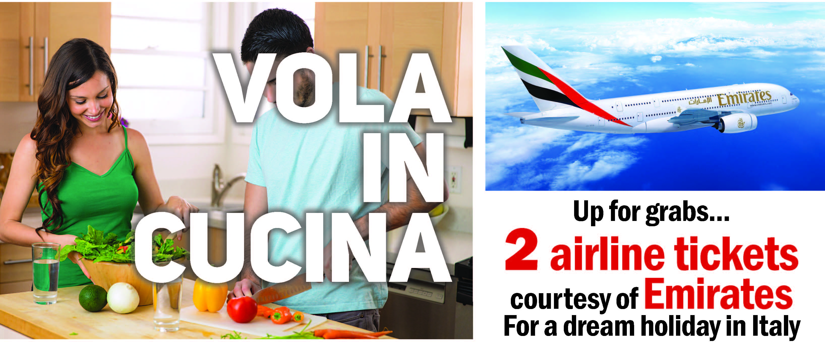 Vola in cucina competition