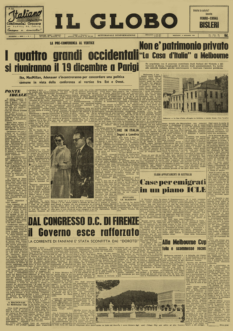 Il Globo First Edition